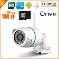 BESDER Wi-Fi Проводные Ip-камеры Безопасности 720 P 1.0MP ONVIF P2P Motion Detection With SD Card Yoosee Удаленный Просмотр Пуля Открытый IPC