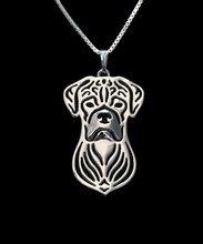 Ожерелье с изображением собаки из сплава в стиле бохо ожерелье
