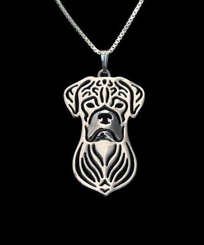 Купить ожерелье с изображением собаки из сплава в стиле бохо ожерелье