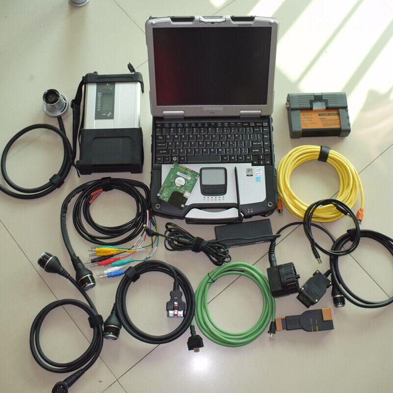 mb star diagnostic system for bmw icom a2 b c with software 2in1 hdd 1tb with cf30 laptop 4g best quality