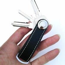 23293355afc Creative Key Houder Organizer Smart Key Portemonnee EDC Gear Sleutelhanger  Pocket Ring(China)