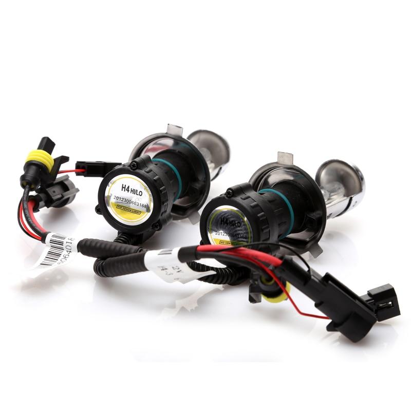 55W bi xenon H4 HID-glödlampa för bilstrålkastare 4300K - Bilbelysning - Foto 2