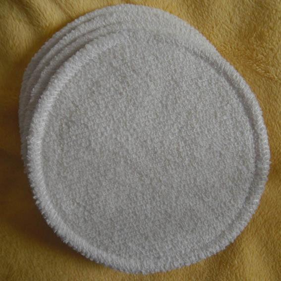 6PCS Reusable Hemp Cotton Breast Pad Nursing Pads For Mum Washable  Pregnant 12cm Breastfeeding Pads