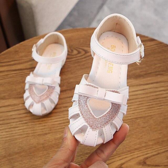 2019 mädchen schuhe kleinkind kinder sommer sandalen für kinder strand große kinder sandalen prinzessin 1 2 3 4 5 6 7 8 9 10 11 12 jahre
