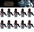 10 unids Bebé juguetes de Star Wars Mandaloriano figura Súper Commando 1 figuras ladrillos Bloques de Construcción de Juguetes Para Niños de Regalo