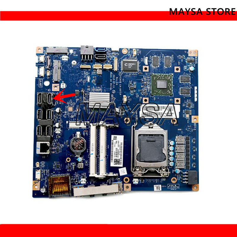 VIA15 LA-A071P FIT For Lenovo B550 AIO Motherboard  Mainboard 100%tested fully workVIA15 LA-A071P FIT For Lenovo B550 AIO Motherboard  Mainboard 100%tested fully work