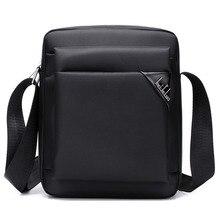 2016Men Wasserdichte Handtaschenschulterbeutel Hochwertigen Nylon Casual Crossbody Umhängetasche Business Männlichen Reisetaschen