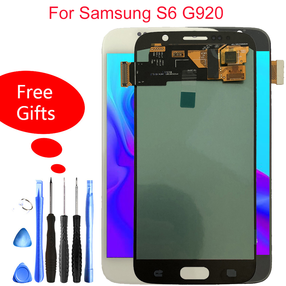Quality LCD For Samsung Galaxy S6 G920 Touch Screen Display G920F G920i G920W8 G920P G920V G920A Assembly ReplacementQuality LCD For Samsung Galaxy S6 G920 Touch Screen Display G920F G920i G920W8 G920P G920V G920A Assembly Replacement