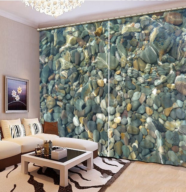 Home Decor Living Room Natural Art Stone Curtains For