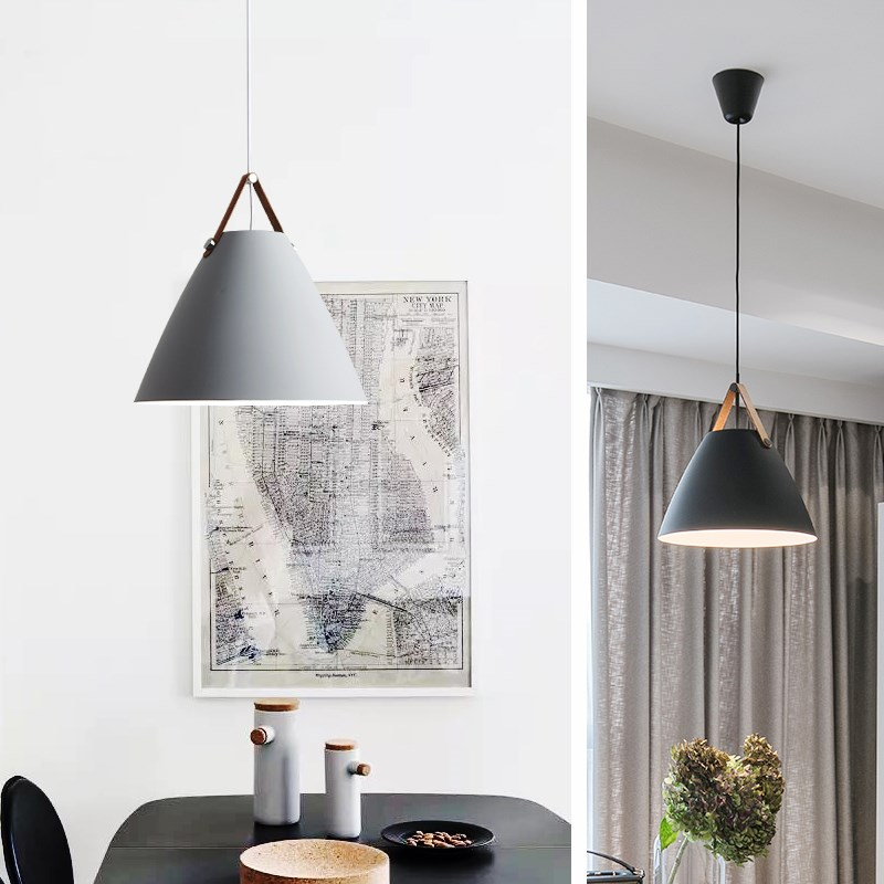 Modern Iron Pendant Lights Nordic Style hanging lights for Kitchen Living Dining room Pendant Lamp hanglamp suspension luminaire