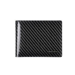 MONOCARBON Einfache Echtem Carbon Faser Schlanke Brieftasche Ultra thin Durable Vintage Brieftasche