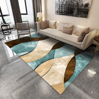 Large Size Living Room Rugs Marble Pattern 3D Carpet Coffee Table Blanket Bedroom Mat Modern Geometric Nordic Custom Floor Mat