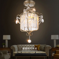 Crystal Chandelier Dining Room Lights Entrance Hall Lighting Light Staircase Chandeliers Corridor Creative Entry Balcony
