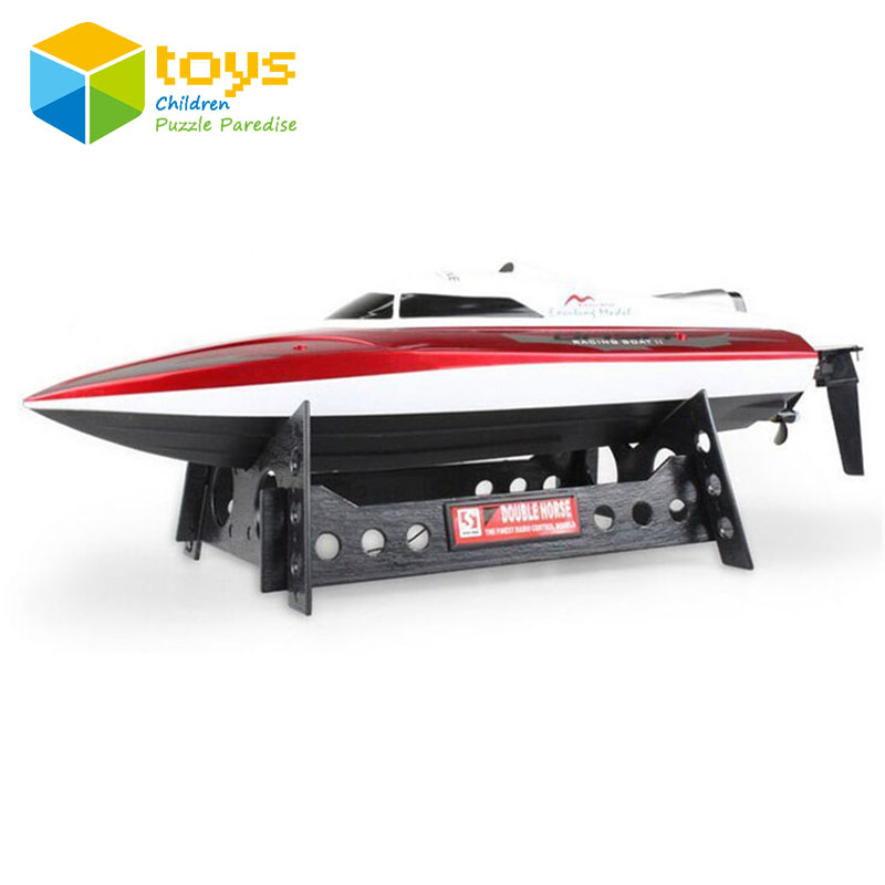 RC Boat Electric High Speed Racing Remote Control Boat Radio-controlled Speedboat with 370 Racing Motor Model Toys for Boys Gift high quality high speed rc boat 13000 6ch mini radio control simulation series rc nuclear racing submarine model kids best gifts
