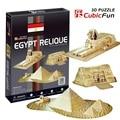 """Kingtoy 3 d головоломки бумаги ремесло diy игрушки-древний домена пирамиды египта """"Ребенок Поделки Игрушки"""