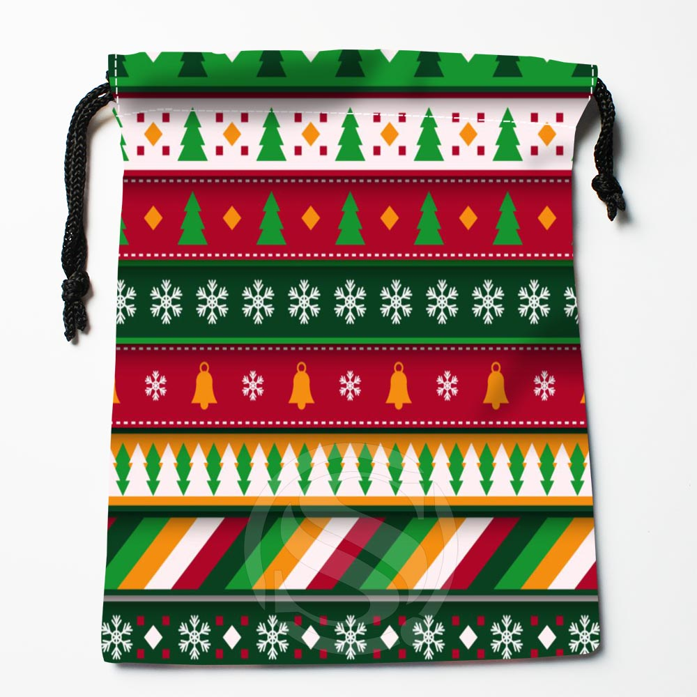 TF&128 New Christmas Tree #!7 Custom Printed Receive Bag Bag Compression Type Drawstring Bags Size 18X22cm #812#128WS