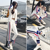 Jazz Dance Costumes While Hip Hop Street Dance Clothing Sexy Outfits For Woman Vest Outfits Sweatshirt Jacket Suits DQT1144