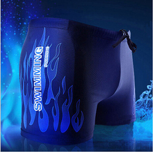 2014 Free shipping Swimwear Mens sharkskin mens swimming  trunks Sport shorts classic men swimwear