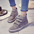 2016 New Vintage Woman Casual Shoes Wild Hook & Loop Woman Flats Warm Comfortable Concise Woman Shoes Breathable Female Shoes