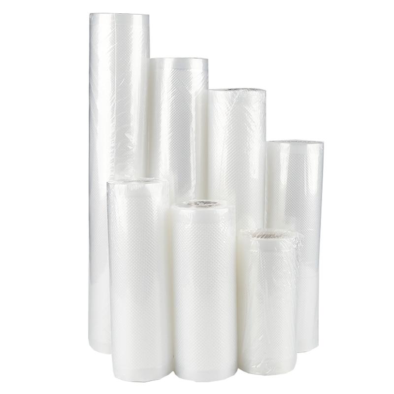 WOMSI 220V/110V Household Food Vacuum Sealer Packaging Machine Film Sealer Vacuum Packer Including 15Pcs bags free 6