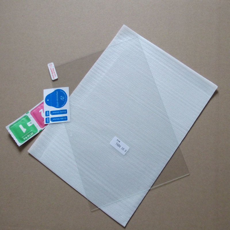 100ピース/ロット用lenovoタブ4 10 × 304強化ガラススクリーンプロテクターフィルム9 h hd保護フィルム  グループ上の パソコン & オフィス からの タブレットスクリーンプロテクター の中 1
