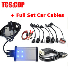 2015.3 Keygen Nouvelle vci Auto TCS CDP Pro Avec Bluetooth Outil De Diagnostic + Plein 8 pcs Voiture Câbles par DHL livraison