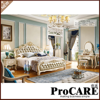 European style best sale home used king size sex bed frame furniture