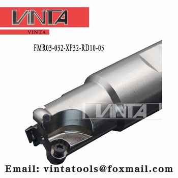 Free shipping  FMR03-032-XP32-RD10-03  Indexable Milling cutter matched RDKW10T3MO carbide insert