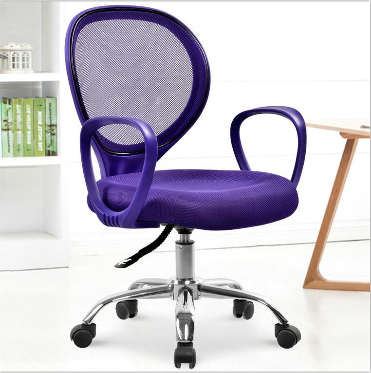 Mesh Cloth Ergonomic Staff Office Chair Domestic Swivel Computer Chair Movable Cadeira Bureaustoel Ergonomisch Sedie Ufficio