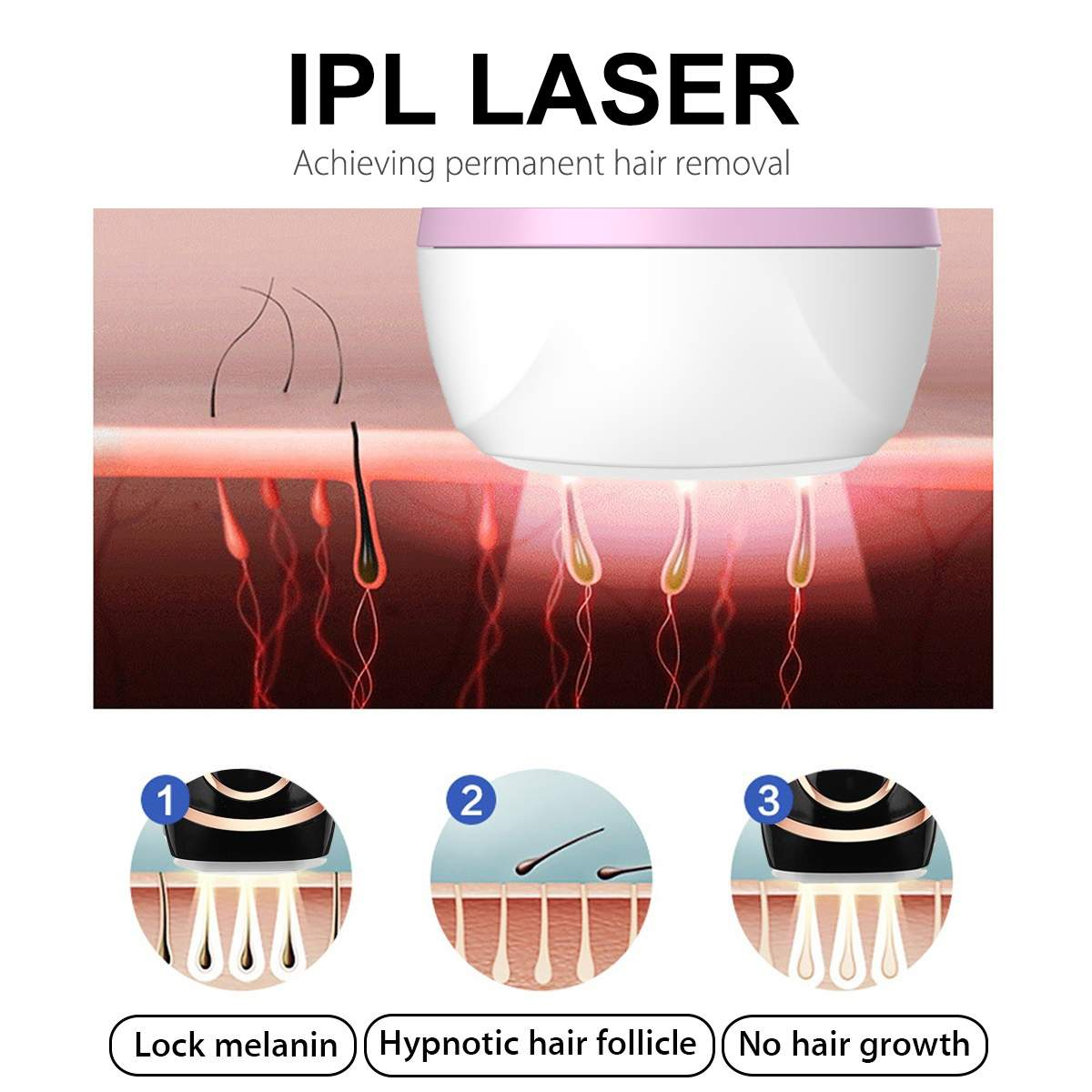 em 1 ipl feminino depilação a laser