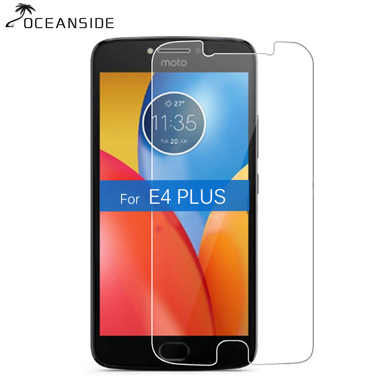 2Pcs For Motorola Moto E4 Plus Tempered Glass Screen Protector 9H 2.5D Safety Cover Film On E4Plus E 4 4th Plus E4+ image