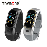 Tinymons H109 Smart band Bluetooth Wireless Earphone Blood Pressure Heart Rate Monitor fitness smart bracelet tracker wristband