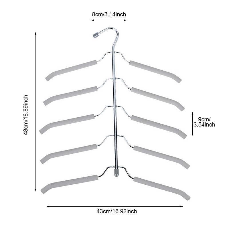 BAKINGCHEF пять слоев вешалка для одежды многофункциональный домашний гардероб рубашка свитер стеллаж для хранения оптовая продажа аксессуары Органайзер