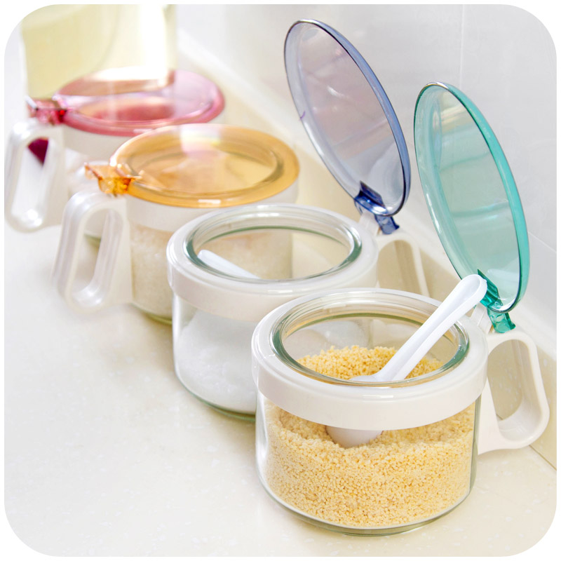 high quality glass spice jar sugar jar kitchen storage bottlechina mainland - Glass Spice Jars