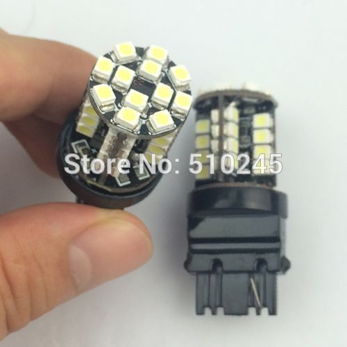 100x T25 3156 LED canbus no error smd 44 3528smd Super Bright 44 LED light bulbs 360 lighting 12v Car Lights