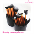 Sedona 22 PCS Llong Metal Make Up Brush Set with Large Cylinder Case Diameter 10mm  Height 20 mm