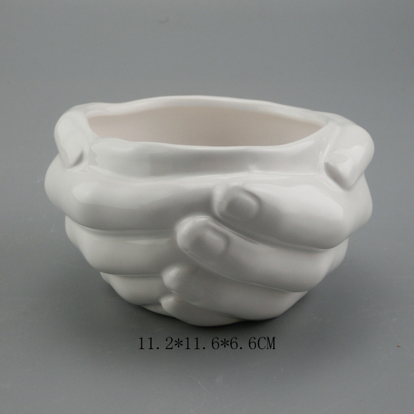 Silikagel silikon mold 3d vasforms sement blomsterpotter Hender hold flerkjøtt blomsterplanter mold