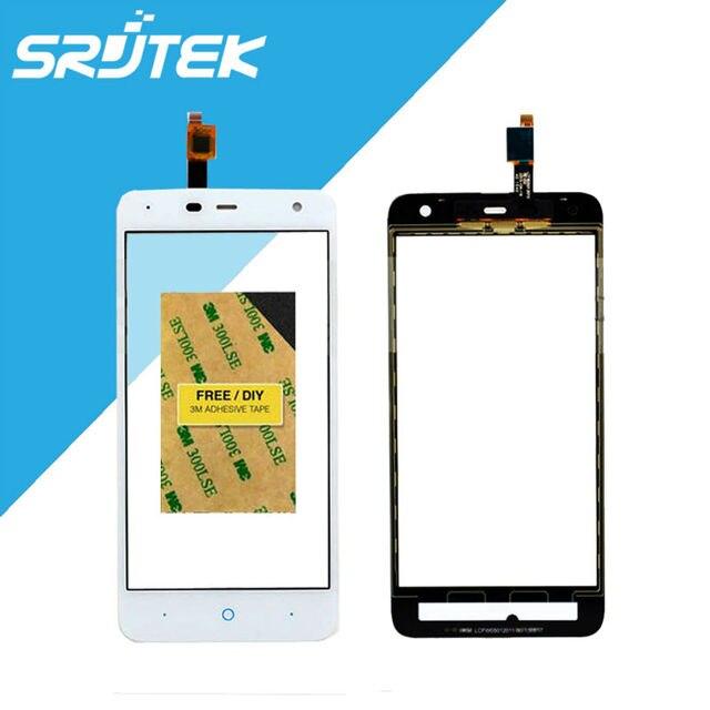 De alta qualidade para zte blade l4 pro a475 t610 tela de toque digitador sensor de vidro exterior preto/branco peças de reposição