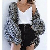 Crochet Knitted Cardigan Women Winter 2019 Knit Cashmere Sweater Women Autumn And Winter Cardigans Women Tops Ladies Sweater