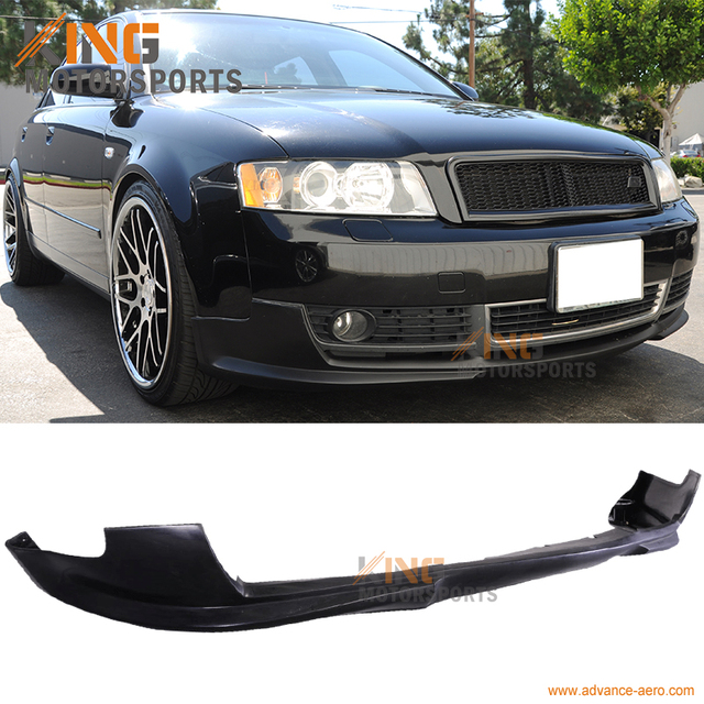 for 2002 2003 2004 2005 audi a4 b6 poly urethane front bumper lip rh aliexpress com Audi Rear Deck Lid Spoiler Audi A4 B6 Badge Removal