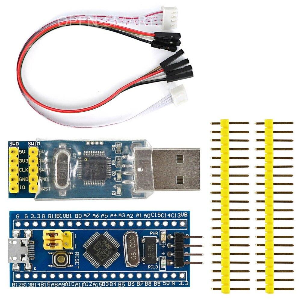 Cortex-M3 STM32F103C8T6 STM32 Développement Conseil w/SWD Socket + ST-LINK V2 stlink Télécharger Programmeur Émulateur
