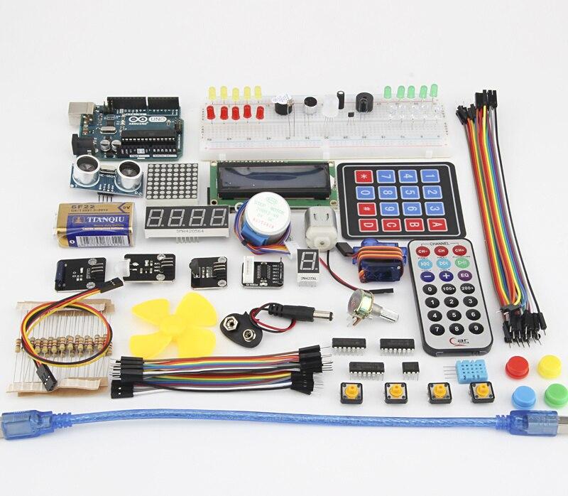 Capteur LCD Module moteur WIFI pour arduino uno r3 kit d'apprentissage/pour arduino Kit de démarrage/pour arduino uno R3 kits de carte de développement