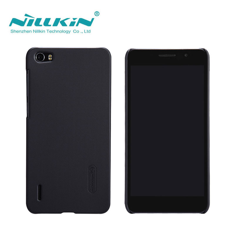 Huawei Honor 6 Case Free Shipping Nillkin Frosted Shield Hard Back Cover Case For Huawei Honor 6 GIft Screen Protector
