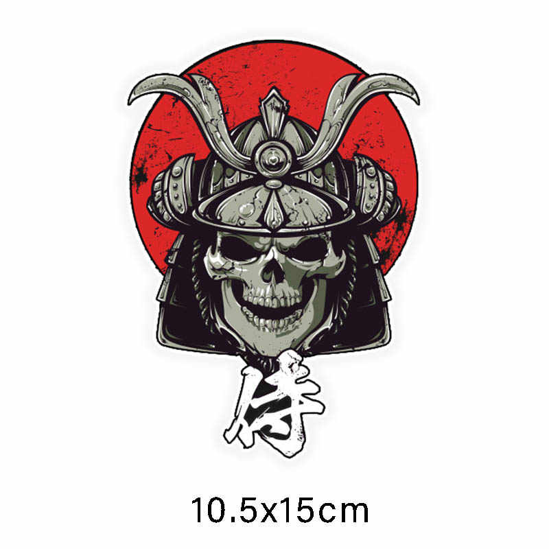 Drie Ratels LCS438 #10.5X15Cm Devil Dode Auto Stickers Funny Car Stickers Styling Verwijderbare Sticker