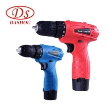 DS Rechargeable 12v Lithium Electric drill Screw Driver Multifunction Household Mini Drill Power Tools 1 PC