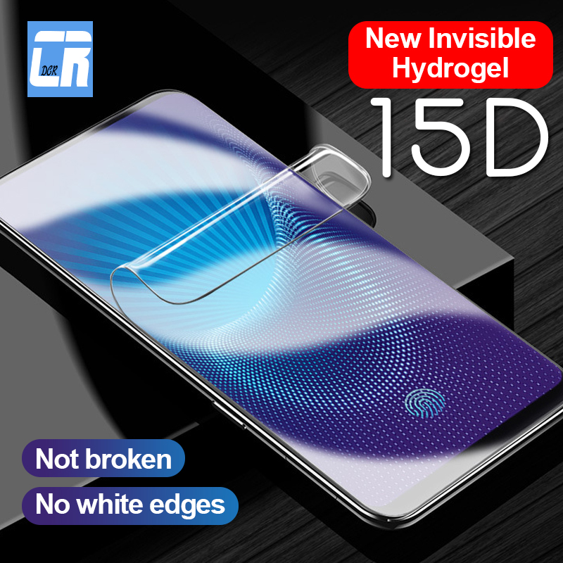 15D Full Soft Hydrogel Film for <font><b>OPPO</b></font> Reno 2Z R17 <font><b>F11</b></font> <font><b>Pro</b></font> Screen Protector Film for <font><b>OPPO</b></font> Find X R15 R11S R9S Plus F7 Not Glass image