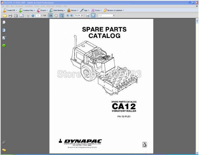 dynapac spare parts catalogues and service manuals in software from rh aliexpress com dynapac lg 500 service manual dynapac cc122 service manual