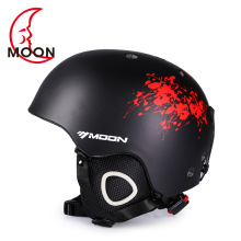 MOON Skiing Helmet PC+EPS Ultralight CE Certification Integrally-Molded Breathable Ski Helmet Snowboard/Skateboard Helmet купить недорого в Москве