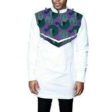 Рубашка мужская с Африканским принтом модная одежда Дашики Анкары