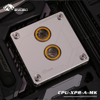Silver,Bykski CPU Block for Intel 1151,115x,X99,X299 Recommend ,Water cooling Processor cooler,5v 3pin,12v 4pin ,CPU XPR A MK